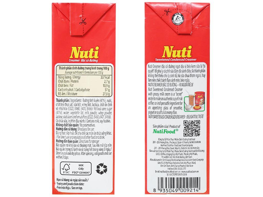 Kem đặc có đường Nuti đỏ hộp 385g 3