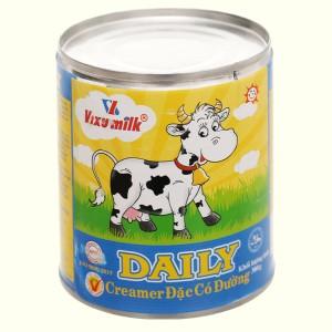 Kem đặc có đường Daily lon 380g