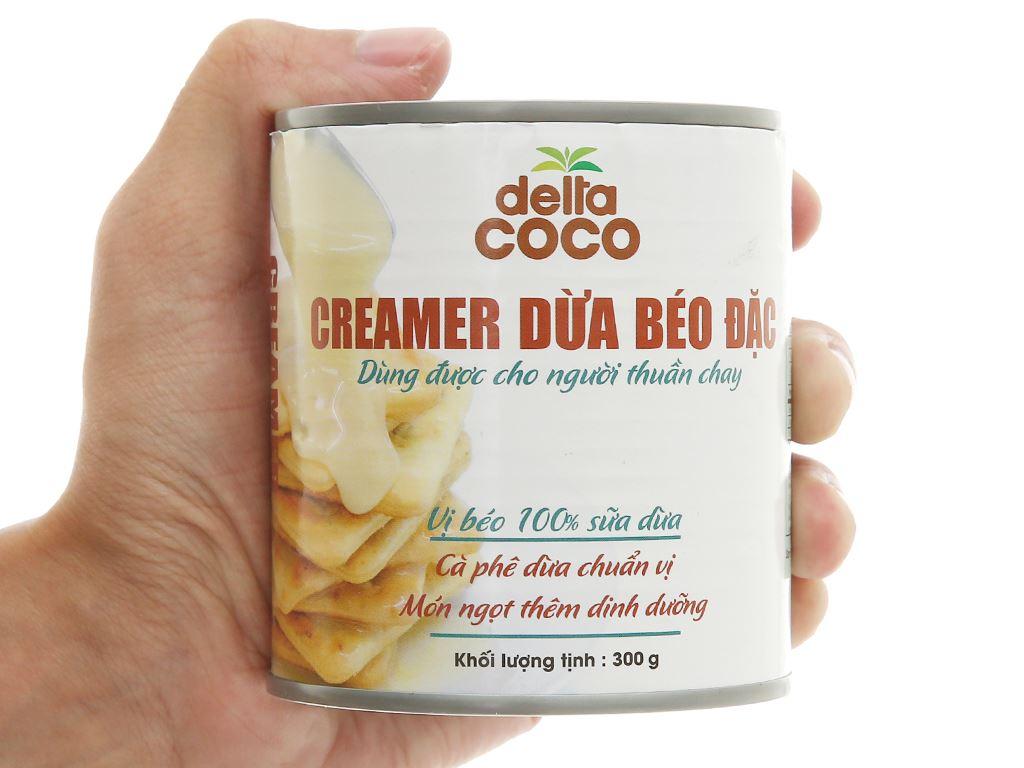 Creamer dừa béo đặc Delta Coco lon 300g 5