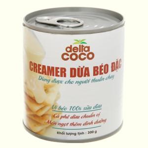 Creamer dừa béo đặc Delta Coco lon 300g