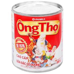 Sữa đặc có đường Ông Thọ đỏ lon 380g