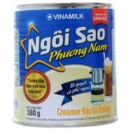 Sữa đặc Ngôi Sao Phương Nam xanh dương có muối lon 380g