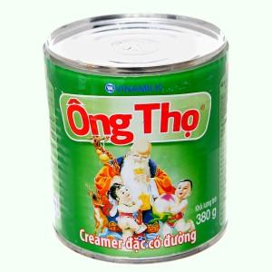 Sữa đặc có đường Ông Thọ xanh lá lon 380g