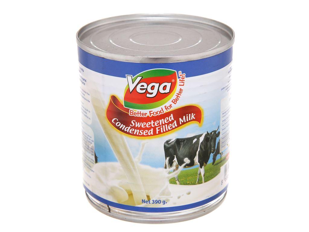 Sữa đặc có đường Vega lon 390g 2