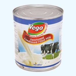 Sữa đặc có đường Vega lon 390g