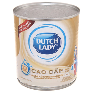 Sữa đặc có đường Dutch Lady nguyên kem lon 380g
