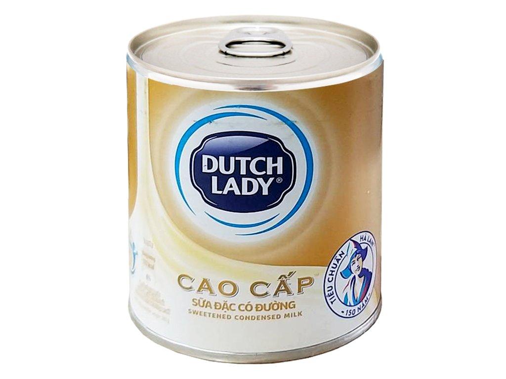 Sữa đặc có đường Dutch Lady Nguyên kem lon 380g 1