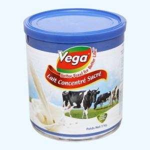 Kem đặc có đường Vega lon 1kg