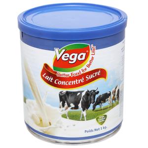 Sữa đặc có đường Vega lon 1kg