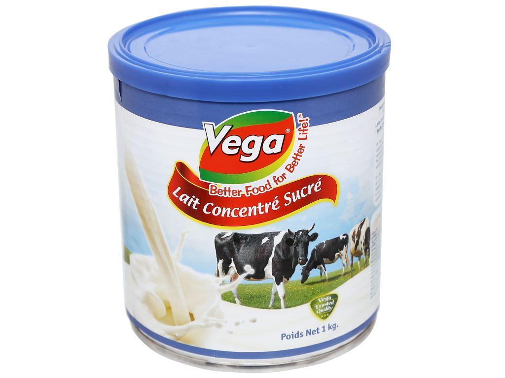 Kem đặc có đường Vega lon 1kg 2