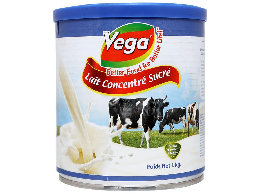 Kem đặc có đường Vega lon 1kg 3