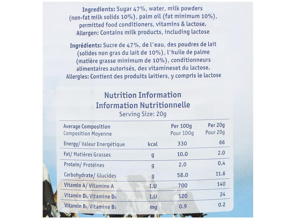 Kem đặc có đường Vega lon 1kg 5