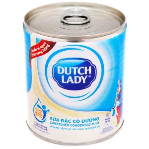 Sữa đặc có đường Dutch Lady xanh biển lon 380g