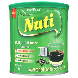 Kem đặc có đường Nuti xanh lá lon 1kg