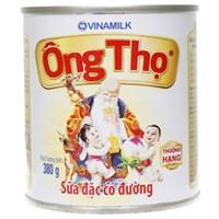 Sữa đặc Ông Thọ trắng nắp giật 380g