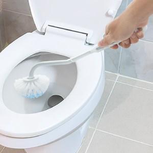 Cọ toilet nhựa YJ 799 36.5 cm