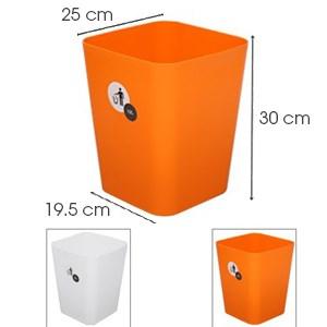 Thùng rác nhựa JCJ TR001 30 x 25 cm