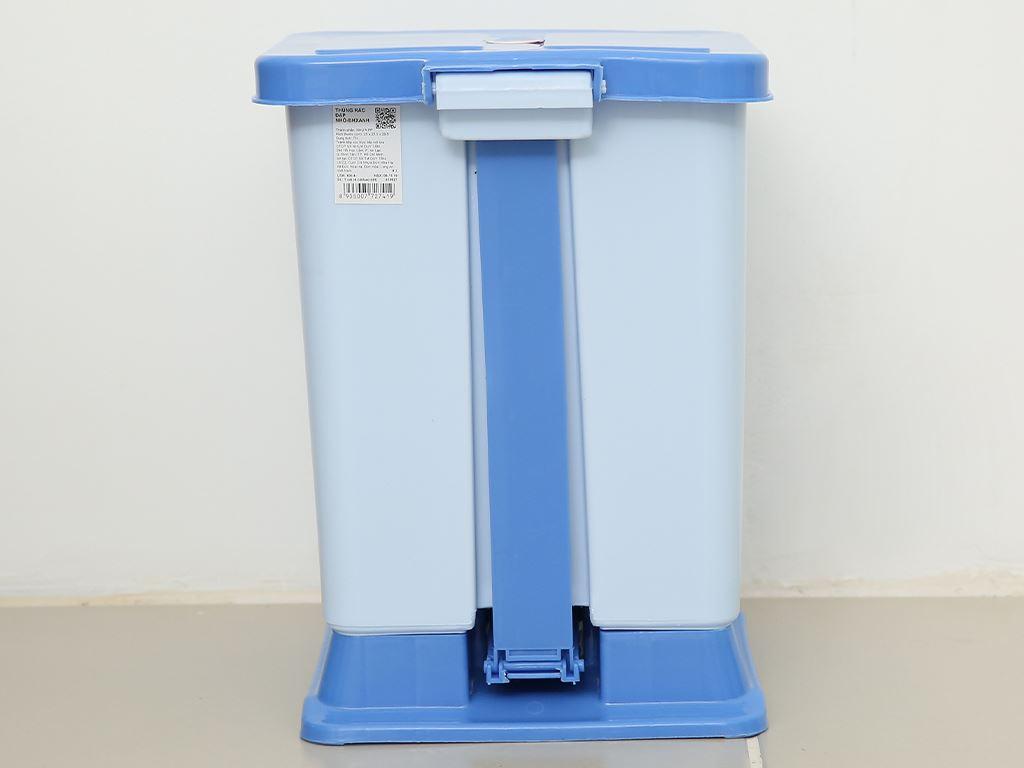 Thùng rác đạp nhựa nhỏ Duy Tân TR02 (giao màu ngẫu nhiên) 5