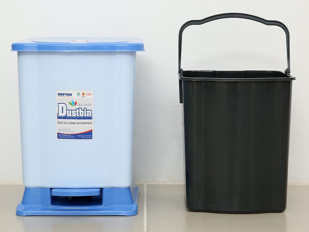 Thùng rác đạp nhựa nhỏ Duy Tân TR02 sữa 6