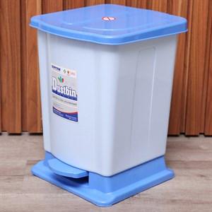 Thùng rác đạp nhựa trung Duy Tân TR03 xanh dương