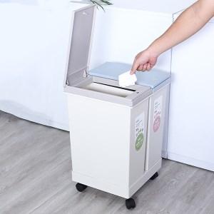 Thùng rác phân loại 2 ngăn Inochi Hiro