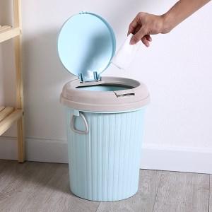 Thùng rác tròn Megahome dung tích 10 lít (giao màu ngẫu nhiên)