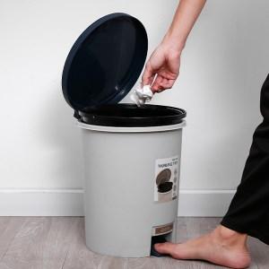 Thùng rác tròn Biohome size 12l