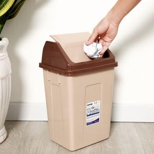 Thùng rác nắp lật Duy Tân 24x39cm (giao màu ngẫu nhiên)