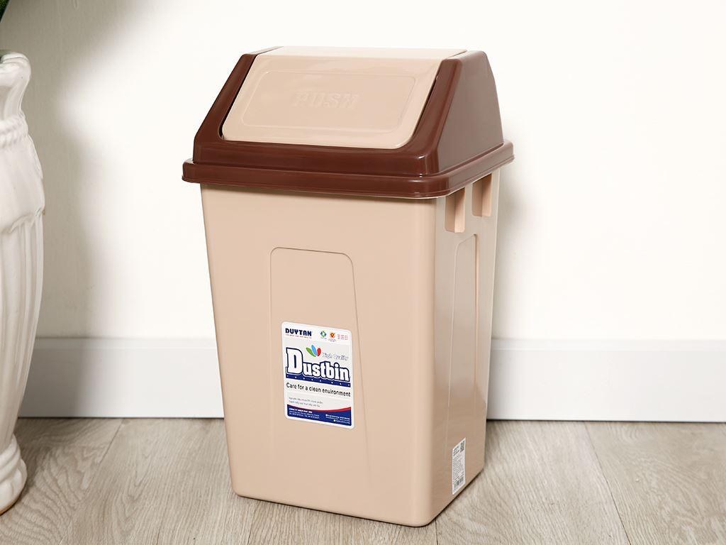 Thùng rác nắp lật Duy Tân 24x39cm (giao màu ngẫu nhiên) 10