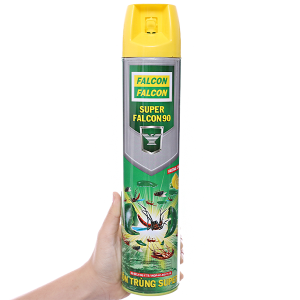Bình xịt côn trùng Falcon 90 hương chanh 600ml