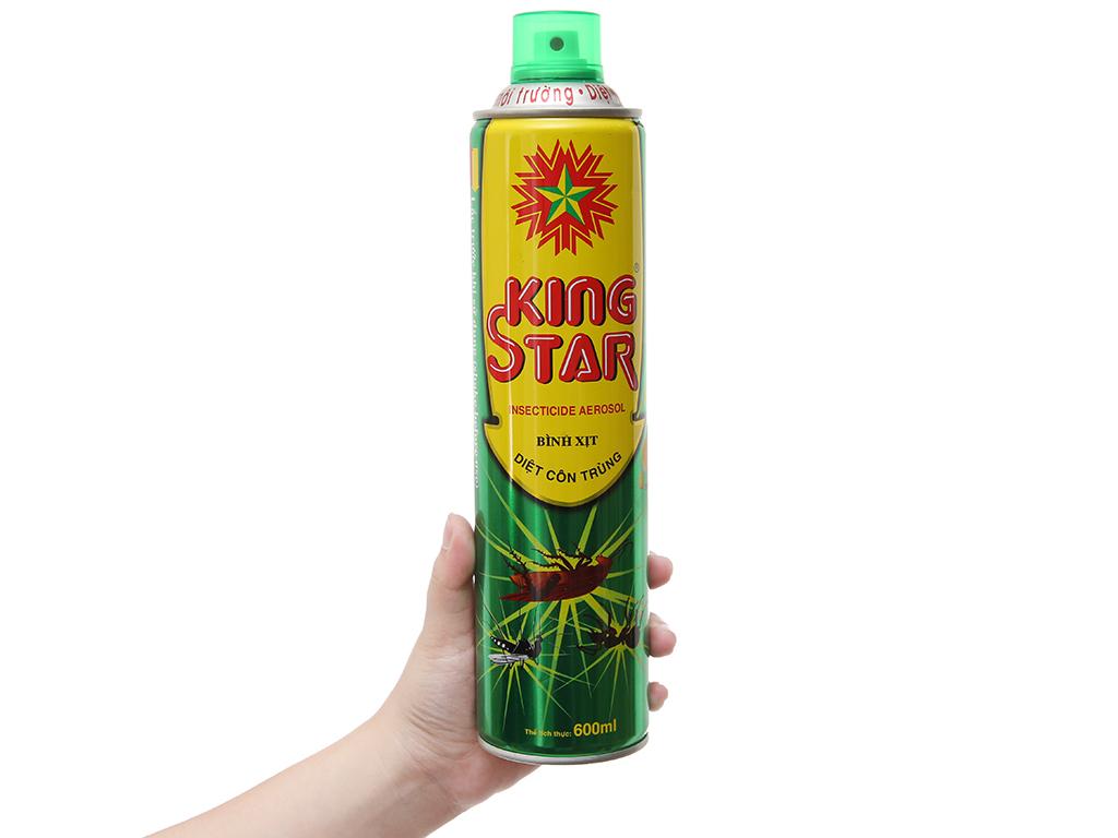 Bình xịt côn trùng King Star hương chanh 600ml 4