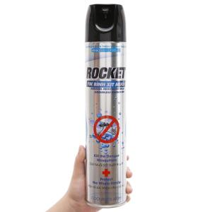 Bình xịt muỗi Rocket không mùi 600ml