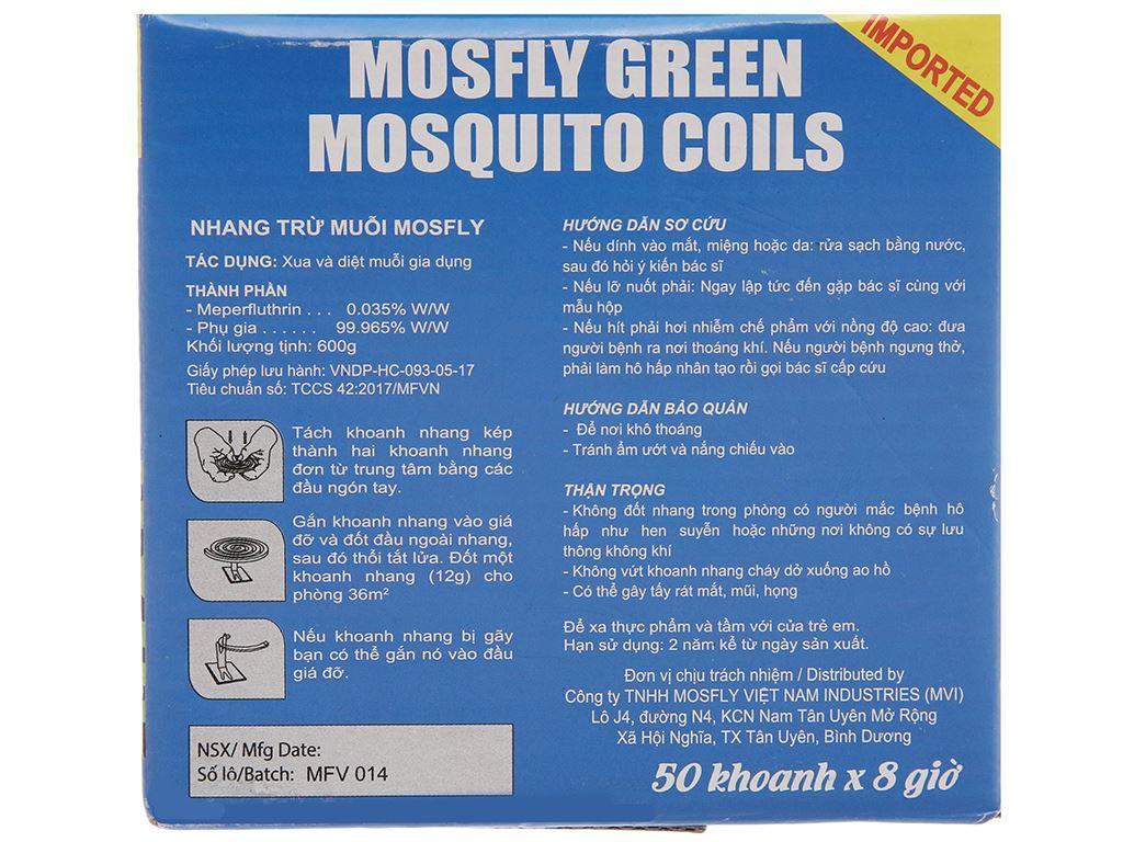 50 khoanh nhang muỗi Mosfly 4