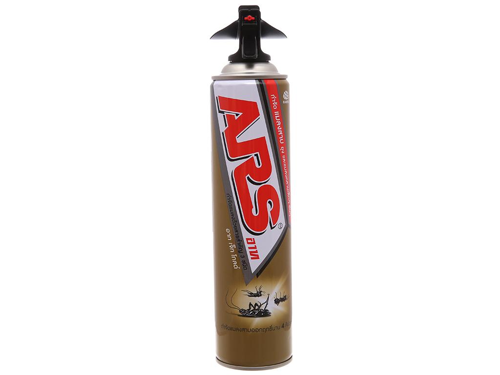 Bình xịt côn trùng ARS Jet Gold Không mùi 600ml 1