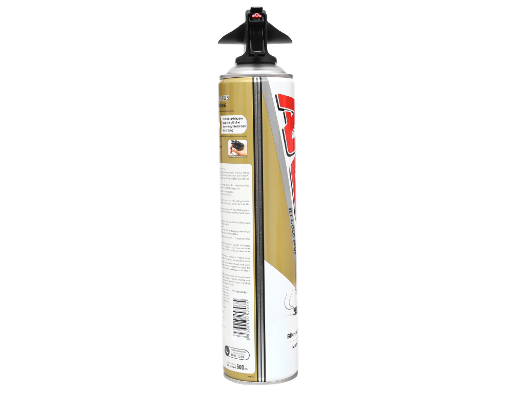 Bình xịt côn trùng ARS Jet Gold Plus không mùi 600ml 4