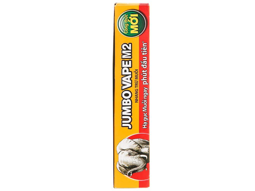 10 khoanh nhang muỗi Jumbo Vape M2 hương hoa lài 120g 3
