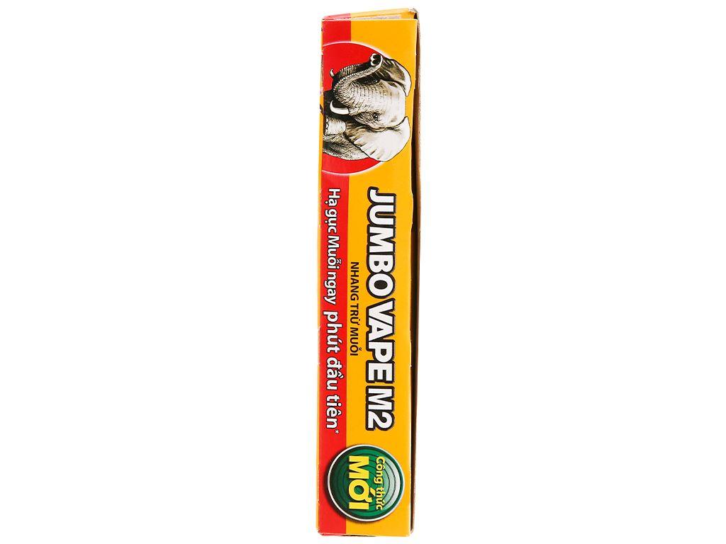 10 khoanh nhang muỗi Jumbo Vape M2 hương hoa lài 120g 4