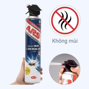 Bình xịt muỗi & côn trùng bay ARS Blue Plus không mùi 600ml