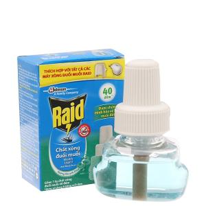 Chất xông đuổi muỗi Raid hương khuynh diệp 21ml