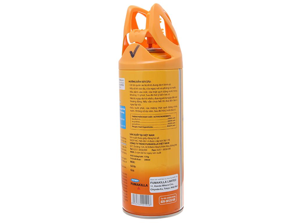 Bình xịt côn trùng Jumbo Vape SUPER hương cam & chanh 300ml 3