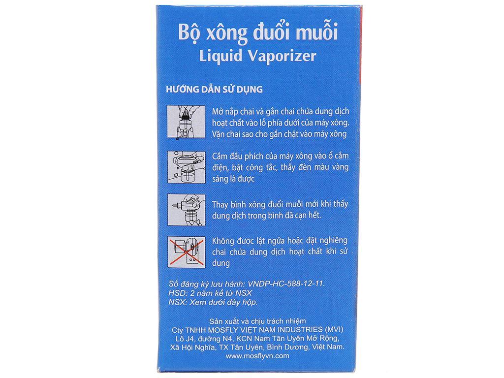 Chất xông đuổi muỗi Mosfly LV Hương Lavender 30ml 3
