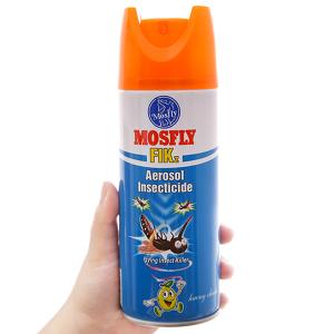 Bình xịt muỗi Mosfly FIK hương chanh 300ml