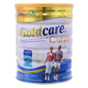 Sữa bột Goldcare dưỡng chất ít béo, bổ sung Canxi 900g
