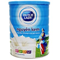 Sữa bột Dutch Lady nguyên kem lon 900g