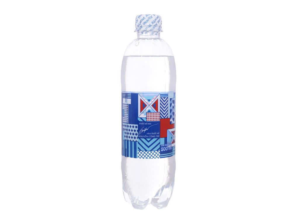 2 chai nước tinh khiết Aquafina 500ml 3
