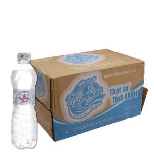 Thùng 24 chai nước tinh khiết Number 1 500ml
