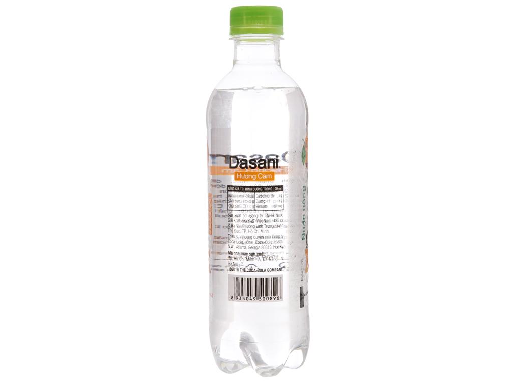 Nước tinh khiết Dasani hương cam 390ml 2