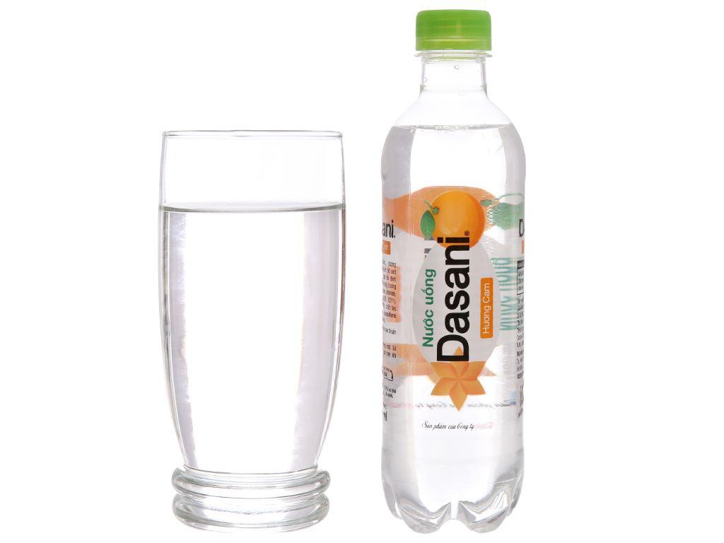 Nước tinh khiết Dasani hương cam 390ml 3