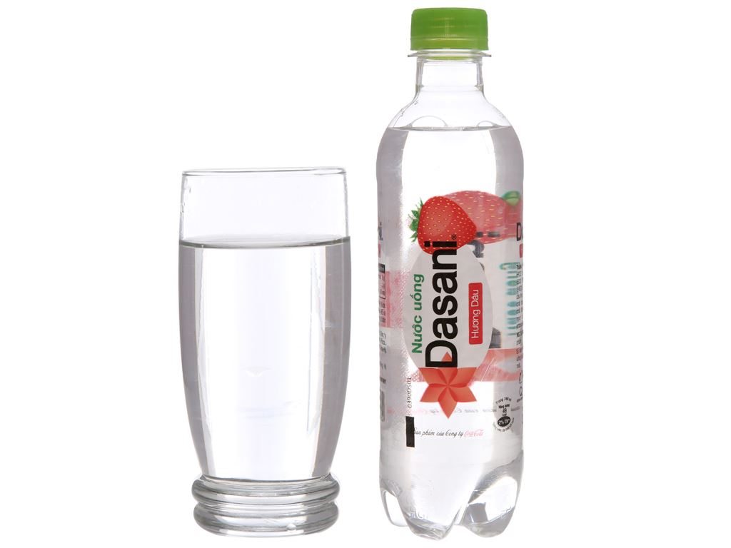 Nước uống Dasani hương dâu 390ml 3