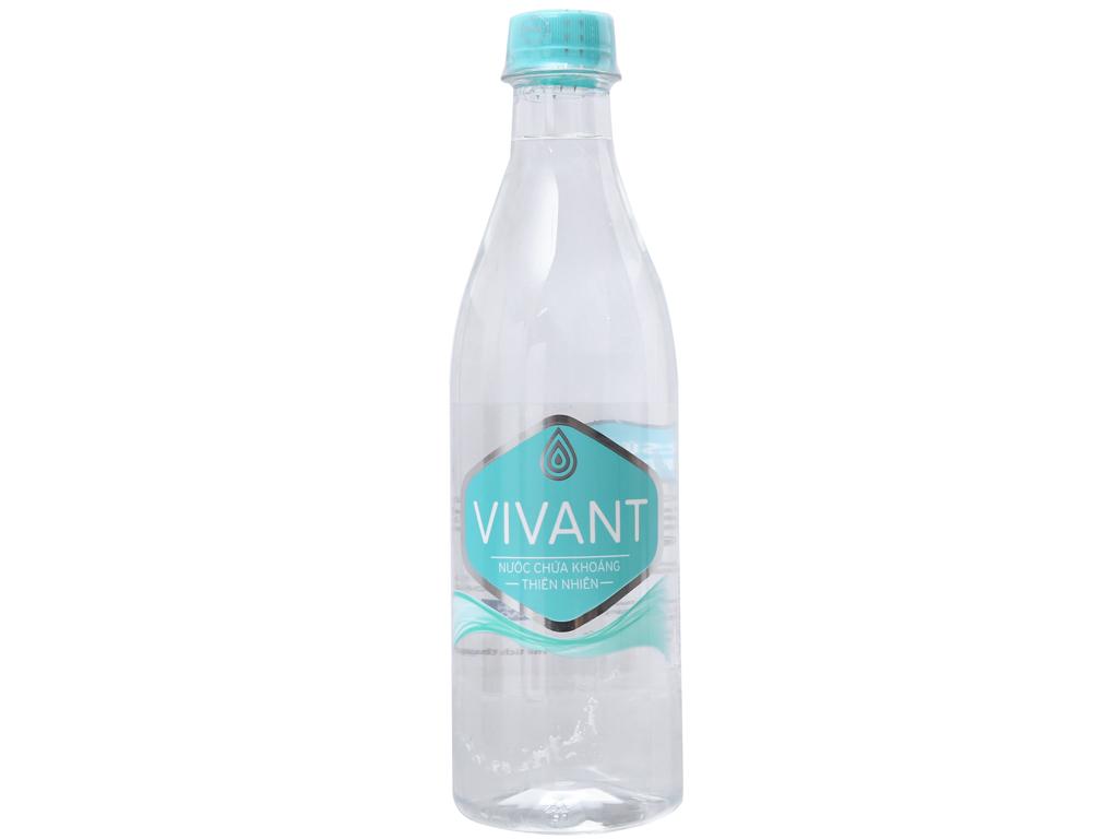 Thùng 24 chai nước khoáng Vivant 500ml 2